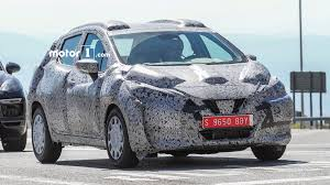nissan micra in usa 2017 nissan micra spotted sporting sway concept styling cues