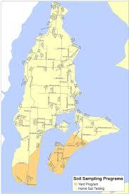 Map To Home Vashon Maury Island Sampling Yard Sampling And Cleanup Program