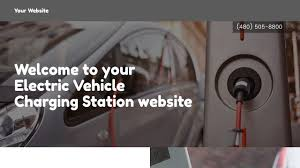 electric vehicles charging stations electric vehicle charging station website templates godaddy