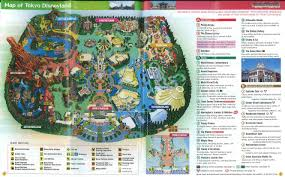 America Rides Maps by Tokyo Disney Resort Maps And Story Papers
