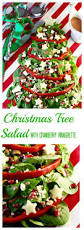 christmas tree salad cranberry vinaigrette holiday party
