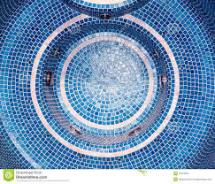 blue mosaic tile stock photography image 31153322