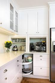 small kitchen cabinets corner kitchen cabinet storage ideas appliance garage
