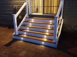 low voltage outdoor stair lighting inspirations and deck kits
