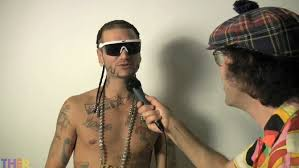 riff raff gets interviewed by nardwuar oh no they didn u0027t