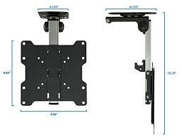 under cabinet tv mount swivel mount it mi 4222 tv ceiling mount kitchen under cabinet tv import