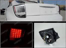 spec d tail lights 00 05 toyota celica chrome housing clear lens led tail lights
