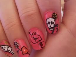 ed hardy nail art nail art ideas