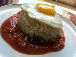 recette de cuisine cubaine recette d arroz a la cubana riz à la cubaine