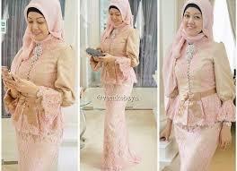 model baju kebaya muslim 45 gambar model kebaya muslim modern dan terbaru sealkazz