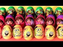 easter eggs surprises nickelodeon easter egg hunt tmnt spongebob
