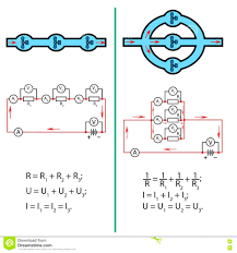 symbols charming series parallel circuits how tovoltages
