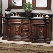 Fine Double Sink Bathroom Vanities Vanity With Travertine P - Bathrooms with double sinks