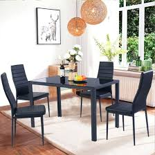 black dining room table chairs corner table and chairs charming white table chairs glass and 4