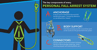 personal fall arrest systems the safety brief