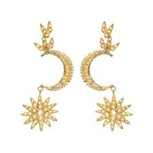 images of earrings in gold atria earrings gold christie nicolaides
