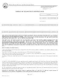 1303 notice of allowance