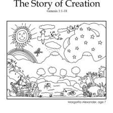 creation bible coloring free download coloring
