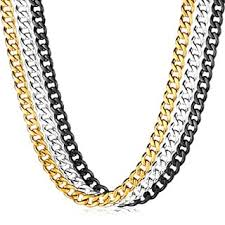 chain necklace mens images Crucible men 39 s polished stainless steel curb chain necklace 24 jpg