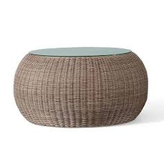 round wicker end table photo of round wicker coffee table echanting of round wicker coffee
