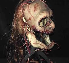 skin mask halloween voodoo ii latex mask by blood line designs mad about horror