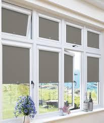 Blackout Roller Blind Blackout Ash Perfect Fit Roller Blind For Upvc Windows U0026 Doors
