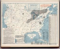 Washington Dc Weather Map by United States Weather Map June 29 1901 David Rumsey