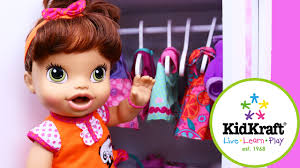 baby alive closet u0026 dress up with lucy doll kidkraft doll