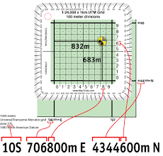 utm zone map a guide to utm coordinates