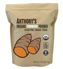 Watch Powder Room Online Amazon Com Organic Turmeric Root Powder 2lb By Anthony U0027s