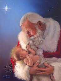santa and baby jesus whooo s ready for the holidays barnicott publishing llc