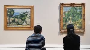 Suche Neue K He Große Cézanne Ausstellung In Karlsruhe In Der Werkstatt Des