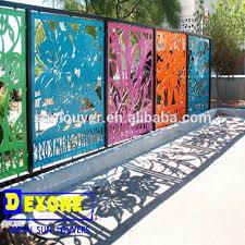 Decorative Metal Fence Panels Cnc Aluminum Decoration Fence At Outdoor Garden Buy Decoration
