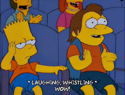 Haha Simpsons Meme - nelson muntz gifs get the best gif on giphy