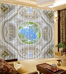 Living Room Curtains Modern Online Get Cheap Curtains 3d Bedroom Aliexpress Com Alibaba Group