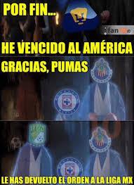 Memes America Pumas - memes de pumas vs america 100 images aveces me dan ganas de