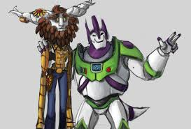 fan created toy story skins buzz lightyear galio and woody ivern