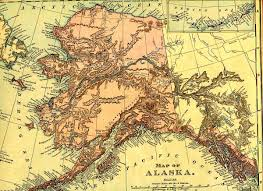us map w alaska history of alaska