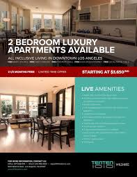 live it up downtown 2 bedroom tenten wilshire apartments first