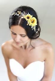 sunflower headband sunflower flower crown sunflower headband yellow flower crown