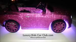 bentley pink luxury kids car club custom bentley power wheel youtube