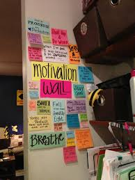 20 ways to use sticky notes motivation wall motivation and walls
