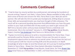 Resume Writers Houston Why Teena Should Be Your Only Choice Of Resume Writer
