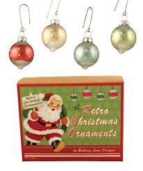 retro glass polka dot ornaments theholidaybarn