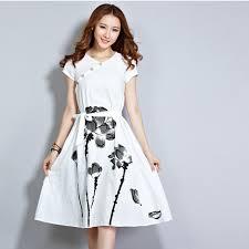 fashion trends ribbon waist tie v neck cap sleeves knee length a