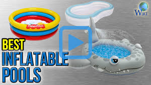 Inflatable Backyard Pools by Top 7 Inflatable Pools Of 2017 Video Review
