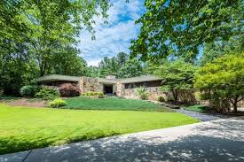 frank lloyd wright inspired home with lush landscaping buckhead midcentury modern a rare opportunity for 1 3m curbed
