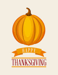 vector thanksgiving illustration with pumpkins royalty free stock
