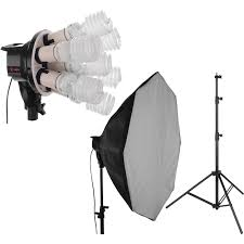 best softbox lighting for video fluorescent lighting kits b h photo video