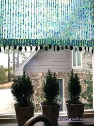 Beaded Window Curtains Beaded Window Treatments Getanyjob Co